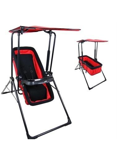 Rival Rv116 Smart Bebek Ana Kucağı, Salıncak, Mama Sandalyesi Fonksiyonel Kullanım Kırmızı